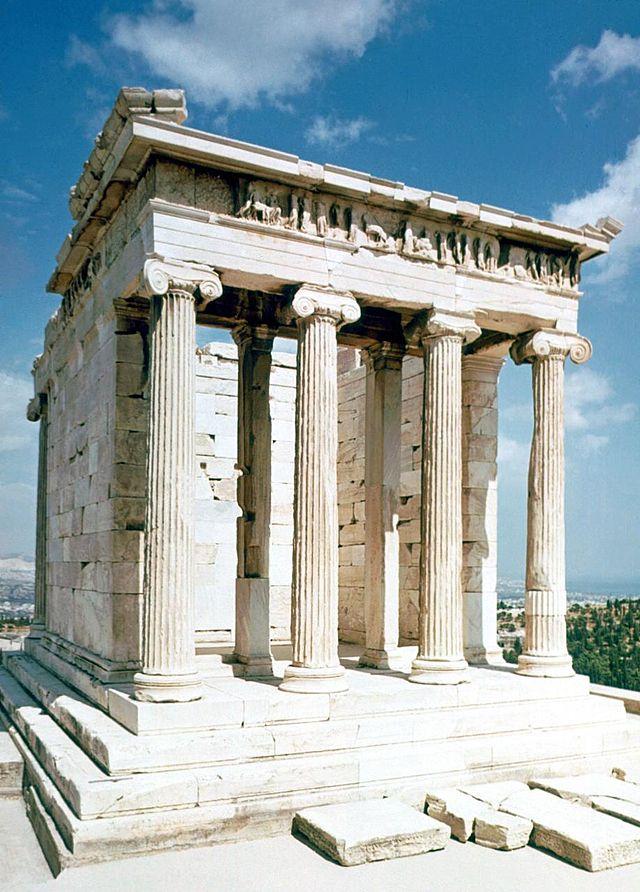 Resultado de imagen de templo de nike aptera